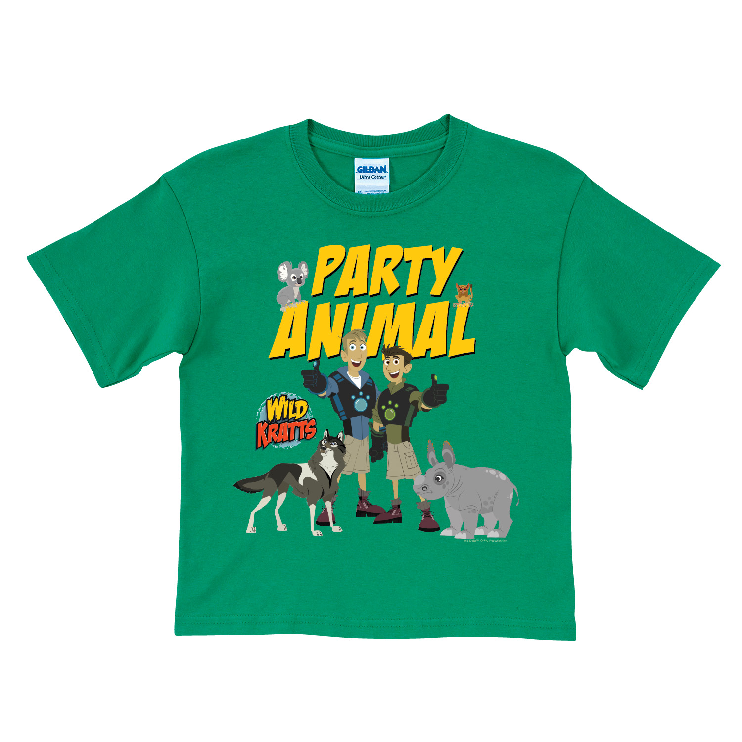 Buy Wild Kratts Party Animal Green T-Shirt