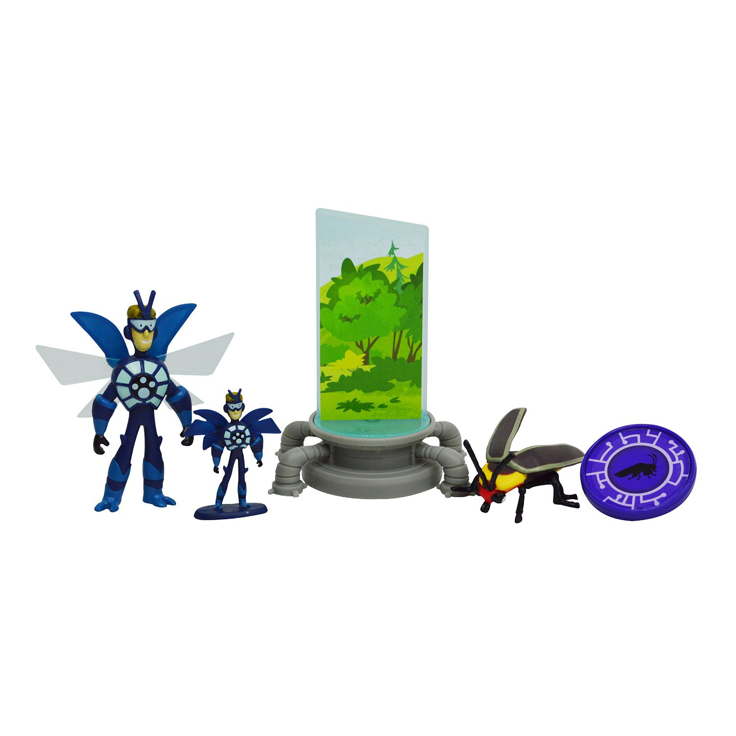 Wild Kratts Deluxe Action Figures - Miniaturizer Set