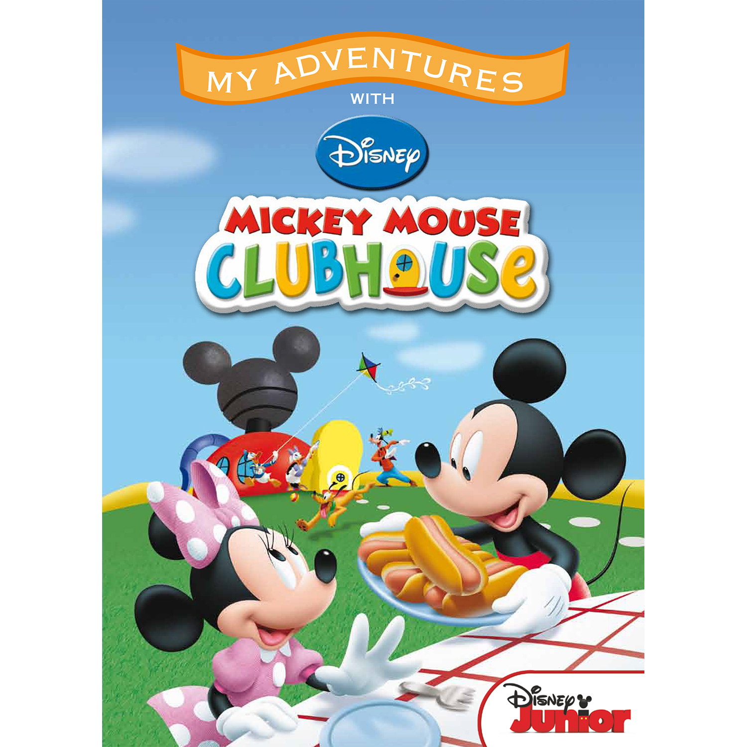 My Adventures with the Mickey Mouse Clubhouse  - 8x11 Soft Cover Book