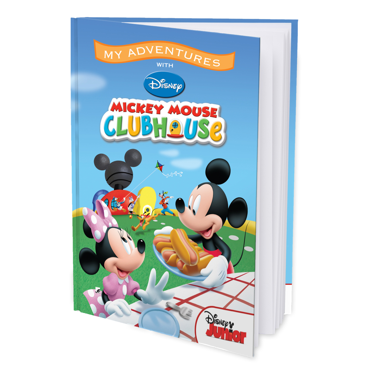 My Adventures with the Mickey Mouse Clubhouse  - 8x11 Hard Cover Book