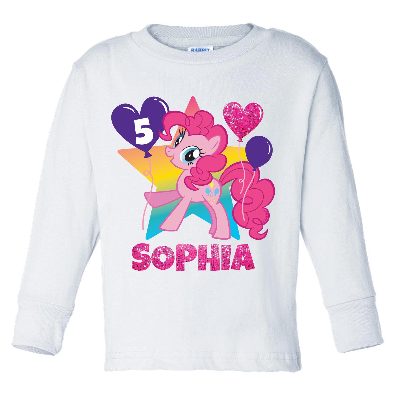 Buy My Little Pony Pinkie Pie Birthday White Long Sleeve Tee