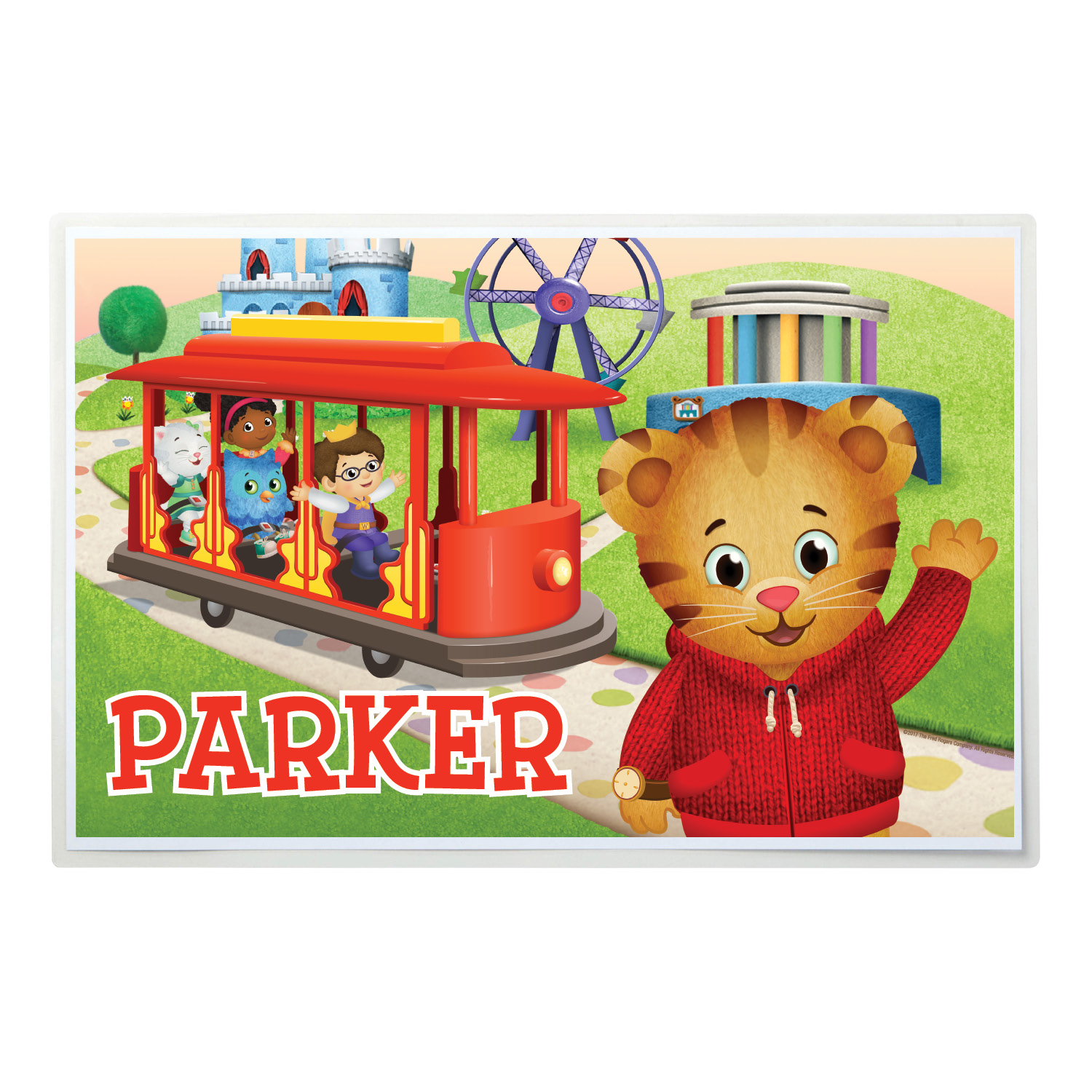 Buy Daniel Tiger Placemat